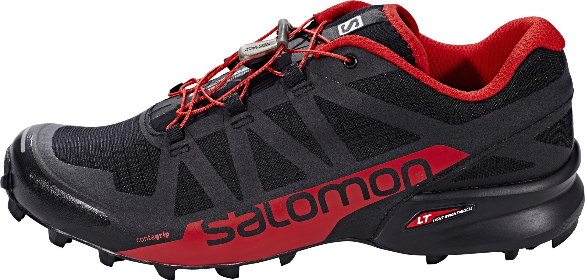 Salomon Rougenoir Chaussures Homme Speedcross 2 Pro Running anqwaYrR